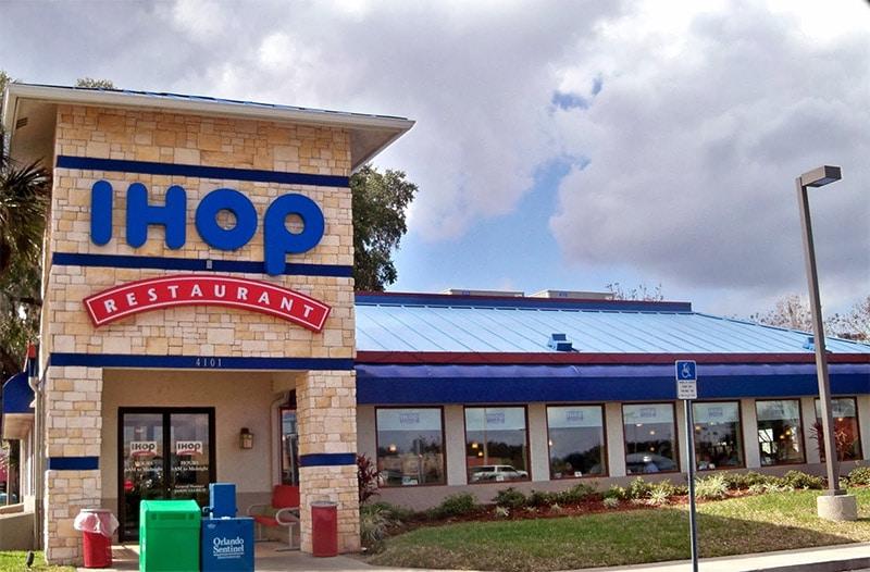restaurant de petit déjeuner Ihop aux USA
