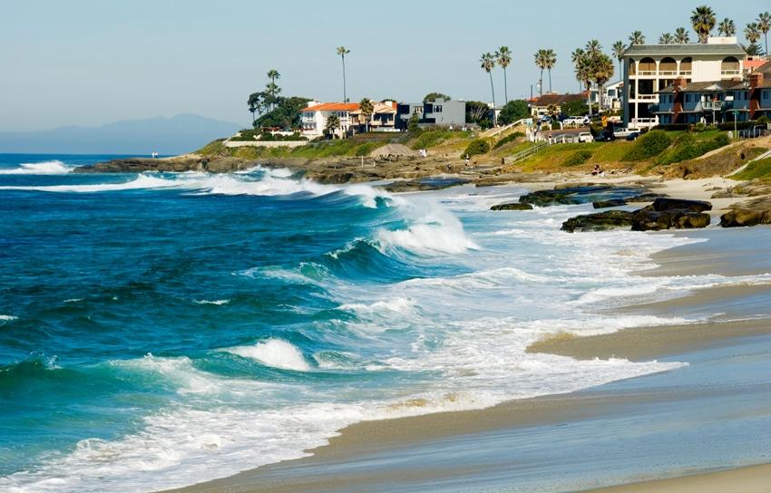 la jolla plage de san diego californie