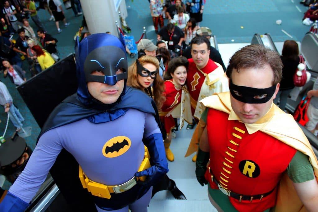 san diego comic con batman et robin