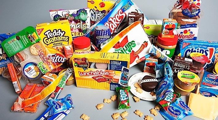 collection de snacks américains