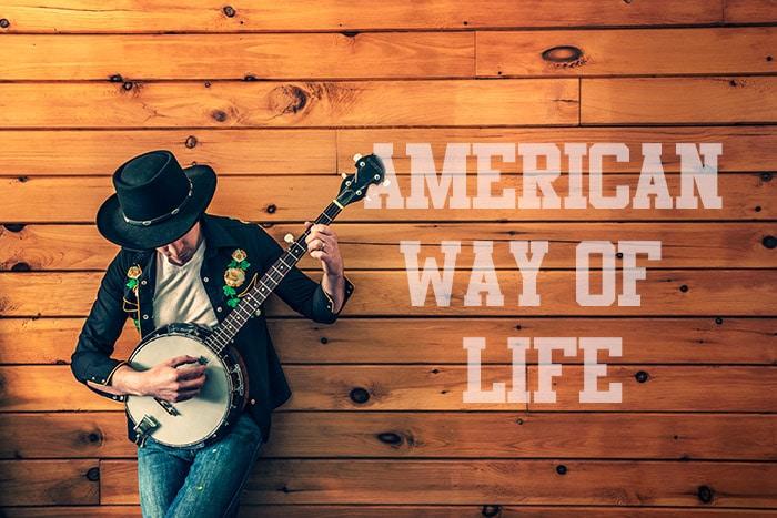joueur de musique country