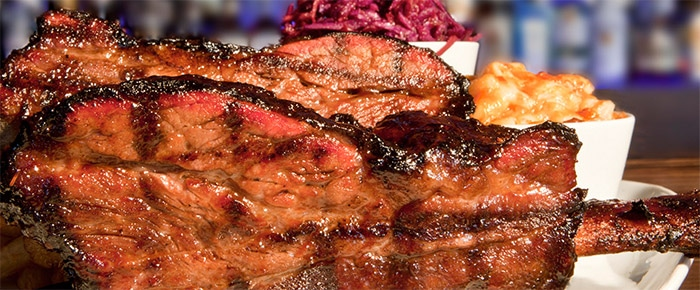 Côte de boeuf au barbecue façon Texas