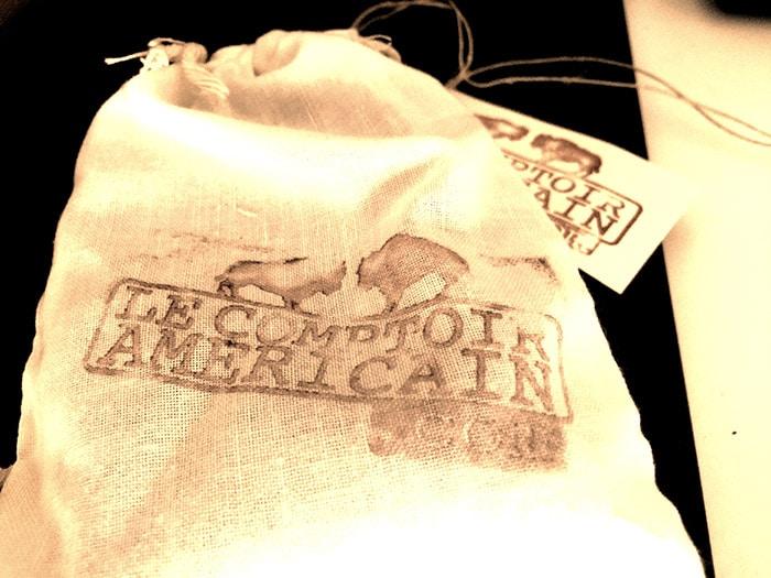 sacs en toile du comptoir américain