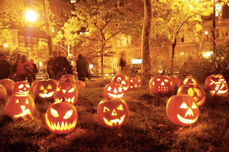 lanternes citrouilles d'halloween