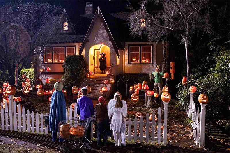 trick or treat le soir d'halloween