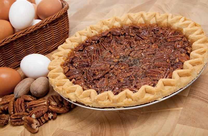 ingrédients de la recette de la tarte noix pécan