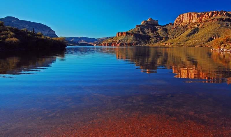 Apache Lake Apache Trail Scenic Drive
