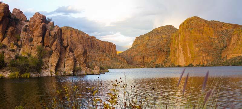 Apache Lake Scenic Drive Arizona