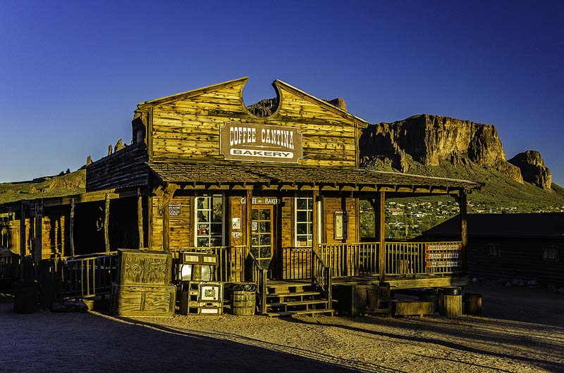 Saloon de Goldfield Ghost Town Arizona