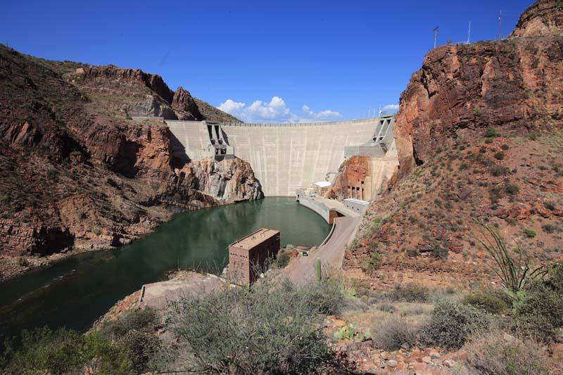Roosevelt Dam Apache Trail Arizona