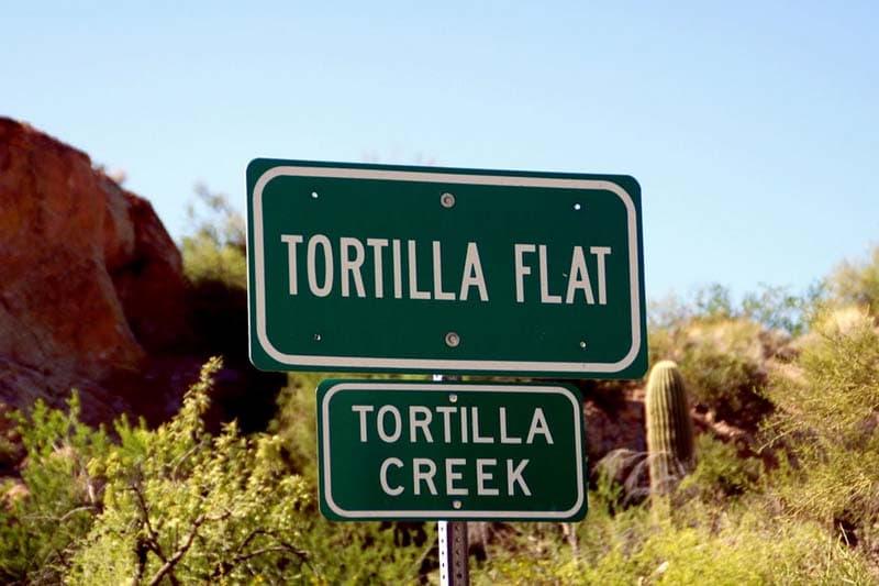 Tortilla Flat Apache Trail