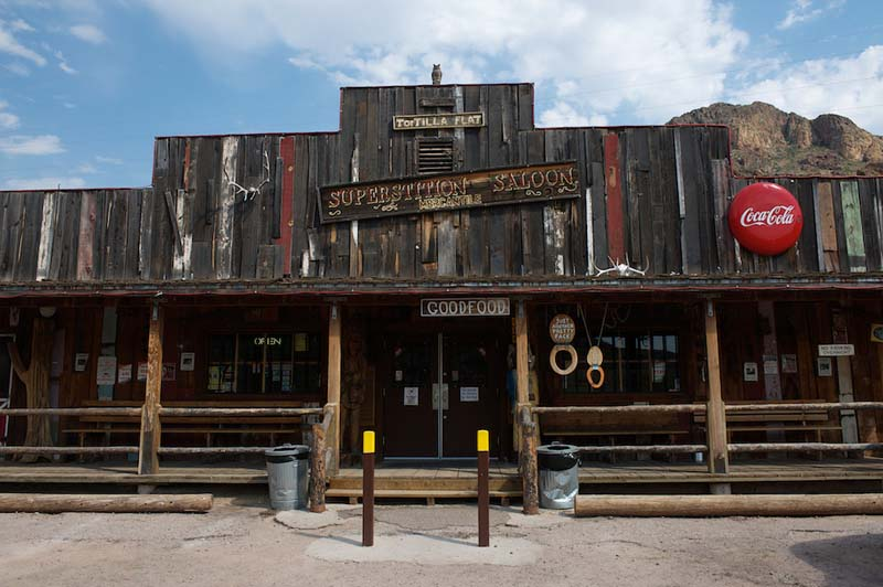 Saloon de Tortilla Flat Arizona