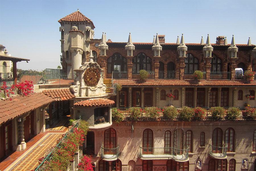 Détails du Mission Inn à Riverside Californie