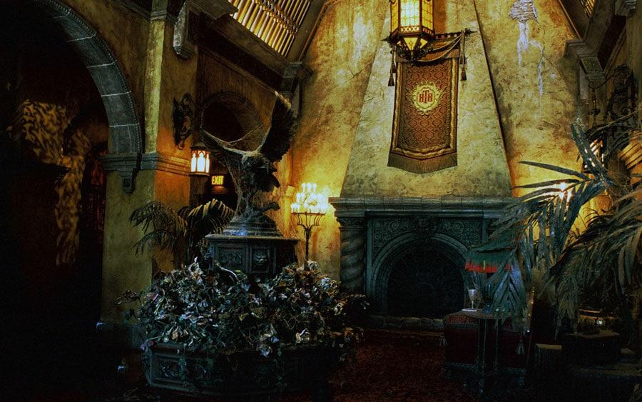 Lobby de l'attraction Hollywood Tower of Terror à Orlando