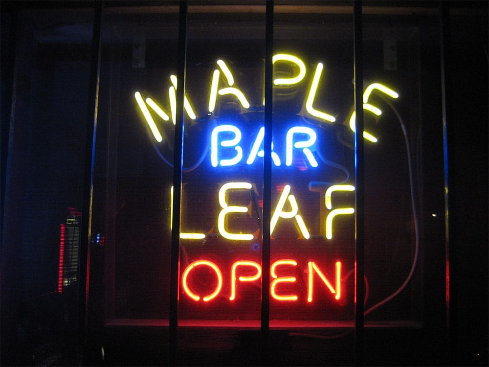 Maple Leaf Bar à la Nouvelle Orléans