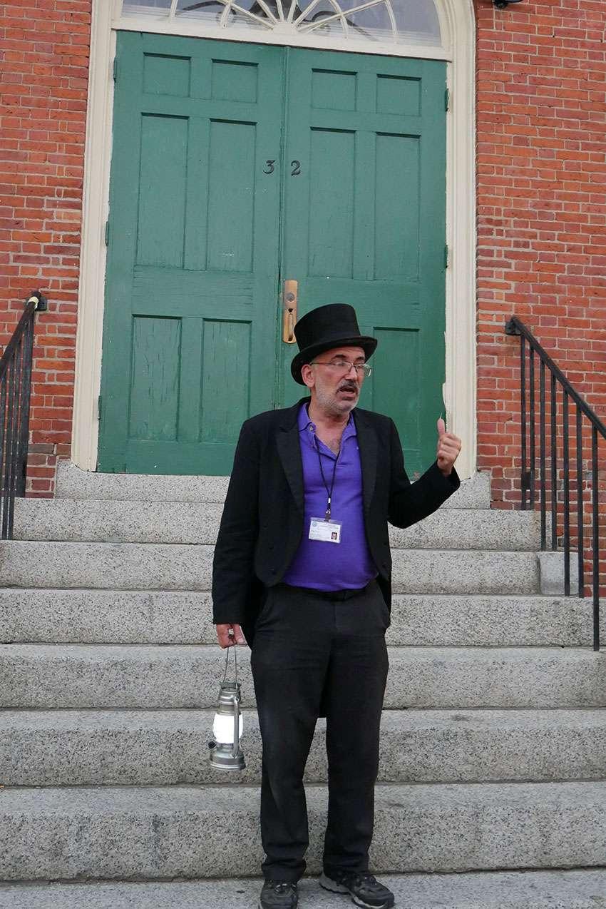 Ghost Tour à Salem avec Bob