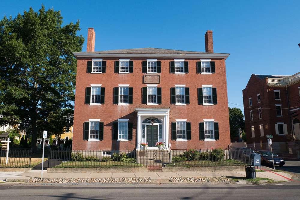 Maison de pierre à Salem