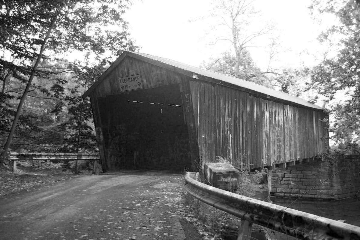 Pont couvert de Gudgeonville, Pennsylvanie
