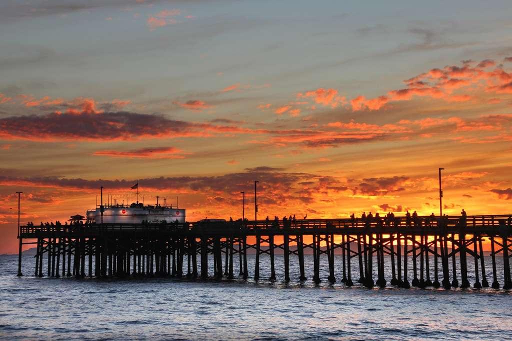 Surf à Newport Beach Californie