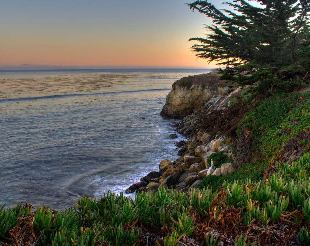 Surf à Steamer Lane, Santa Cruz