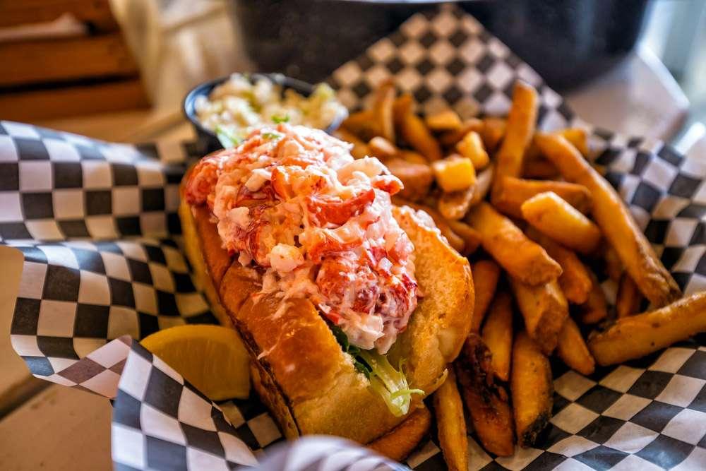 Lobster Roll à Rhode Island