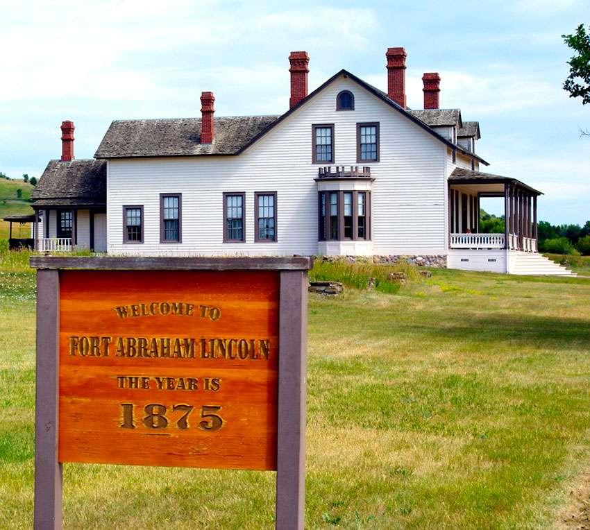 Dakota du Nord Fort Abraham Lincoln