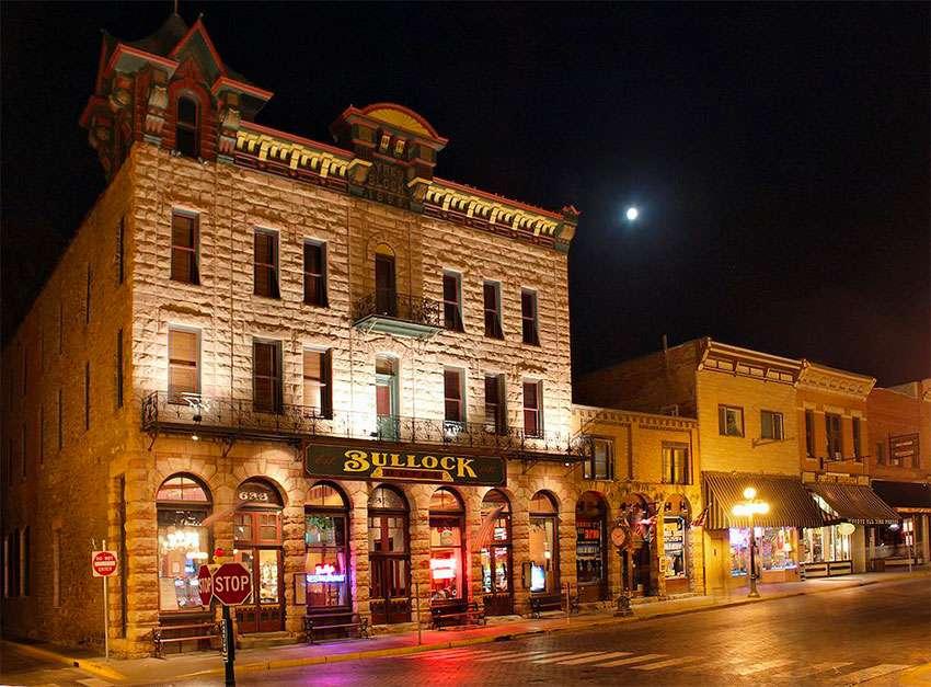 Dakota du Sud Historic Bullock Hotel