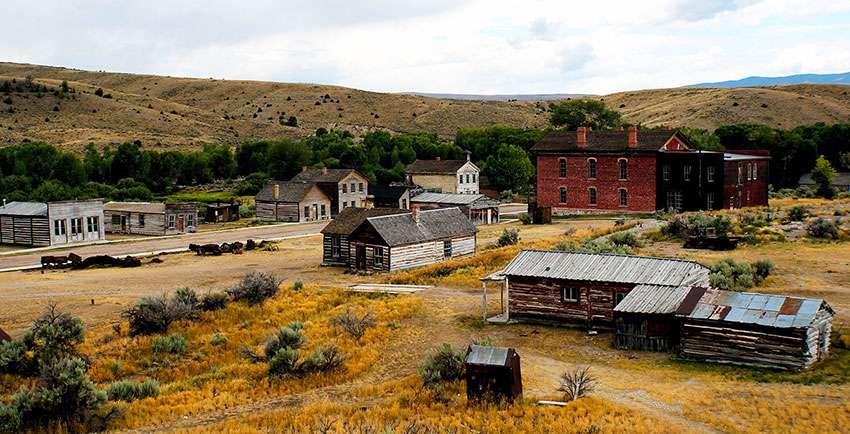 Montana Bannack Ghost Town