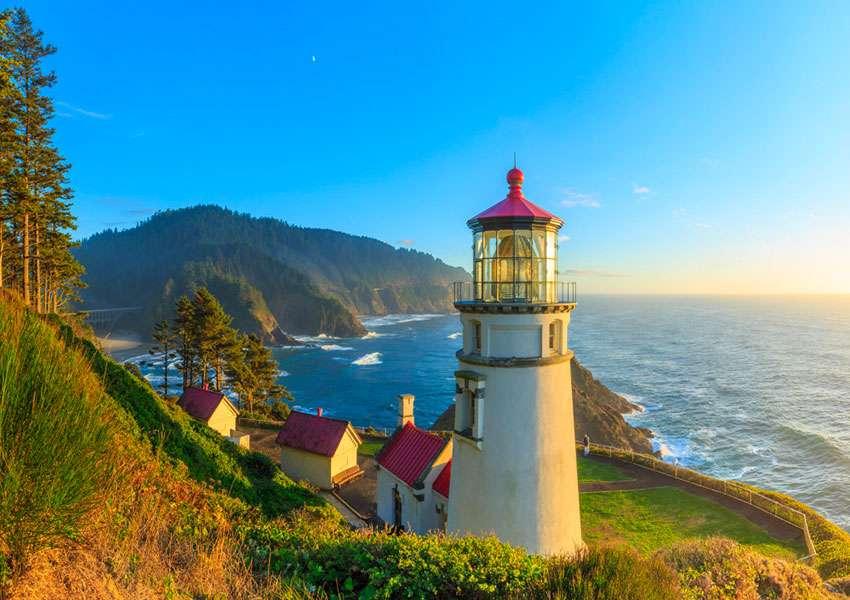 Oregon Heceta Head Lighthouse