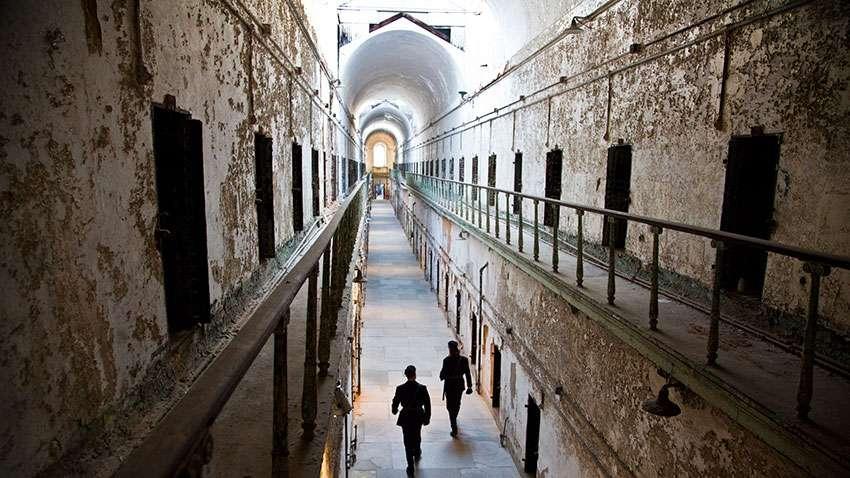 Pennsylvanie Eastern State Penitentiary