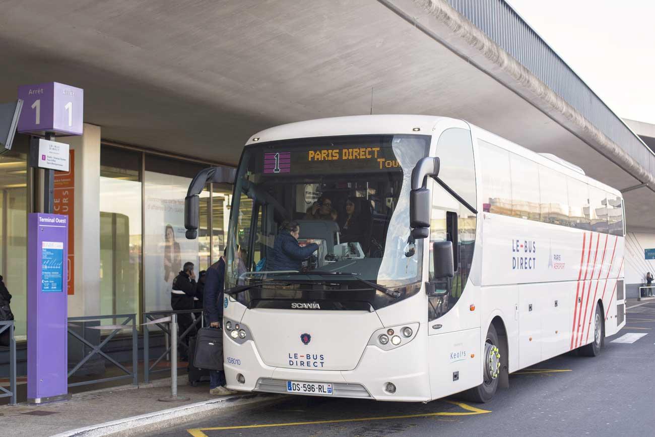 Bus Direct depuis l'aéroport d'Orly