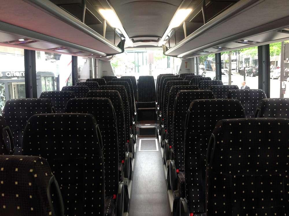 Bus Direct intérieur du bus
